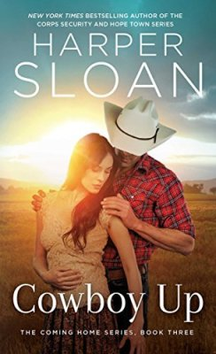 Cowboy Up by Harper Sloan #BookReview #ContemporaryRomance
