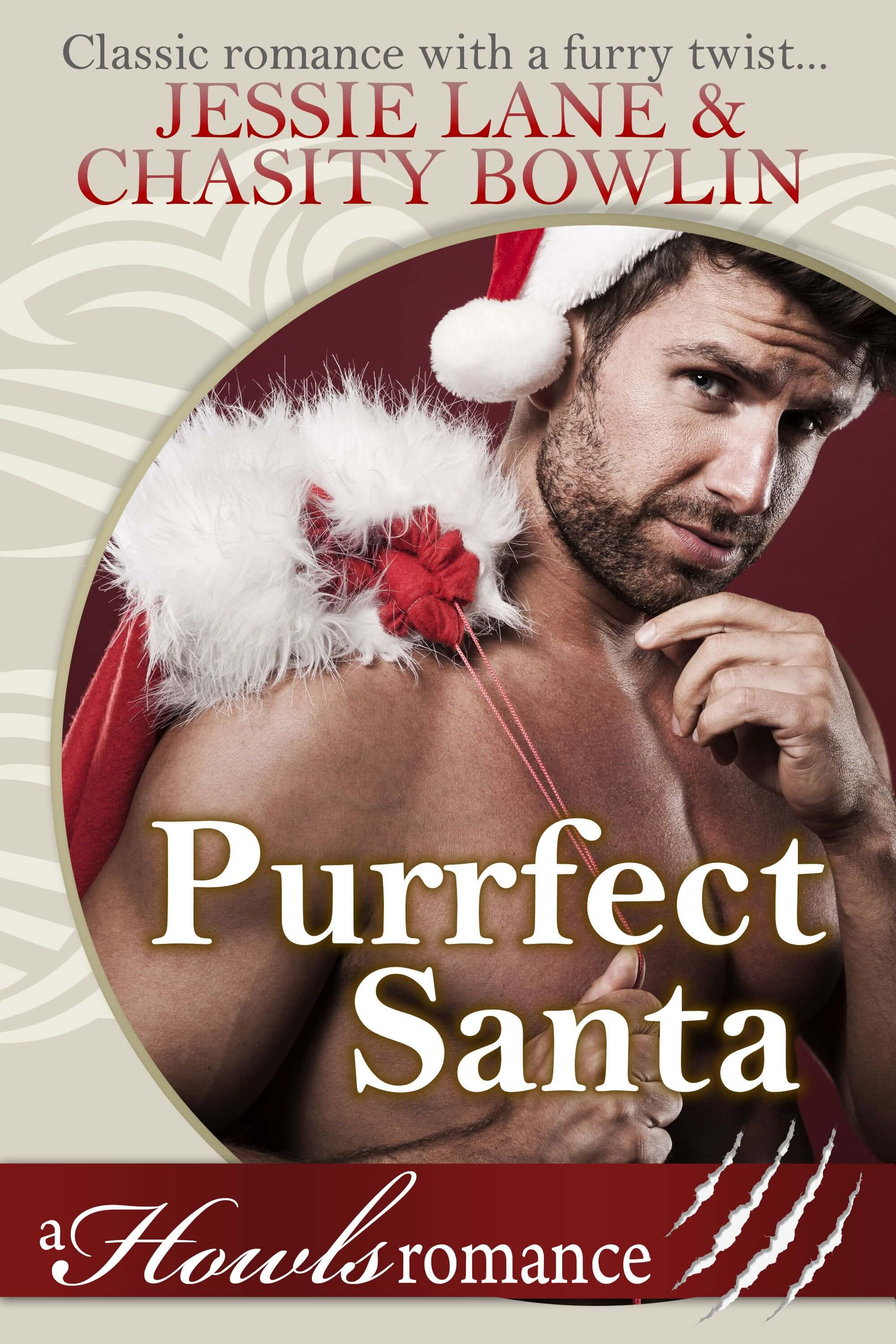 Purrfect Santa by Jessie Lane and Chasity Bowlin