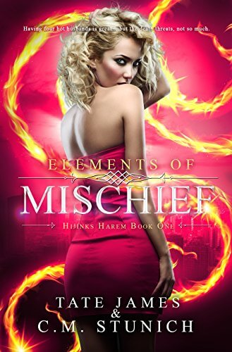 Elements of Mischief by CM Stunich and Tate James #Giveaway #ReverseHarem