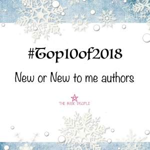 #Top10of2018: New to Me Authors!