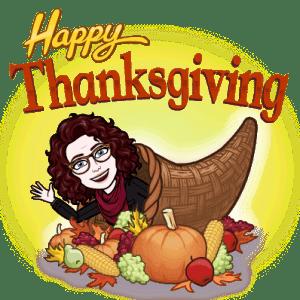 Bookish Thanksgiving