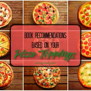 Book Recs based on your pizza order!