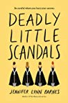 Review | Deadly Little Scandals – Jennifer Lynn Barnes