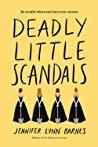 Review | Deadly Little Scandals – Jennifer Lynn Barnes