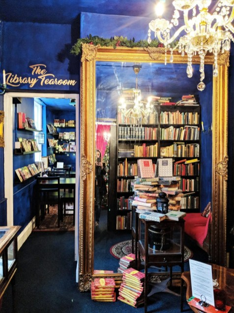 Entrance to the Library Tearoom Barrister's Book Chambers