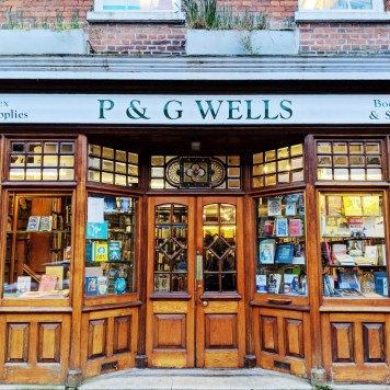 P&G Wells Booksellers Front