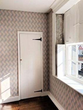 Wallpaper Family Room Jane Austen House