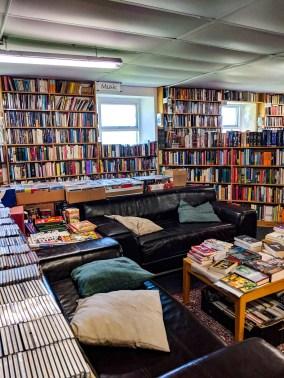 Seating area Westwood Books Sedbergh