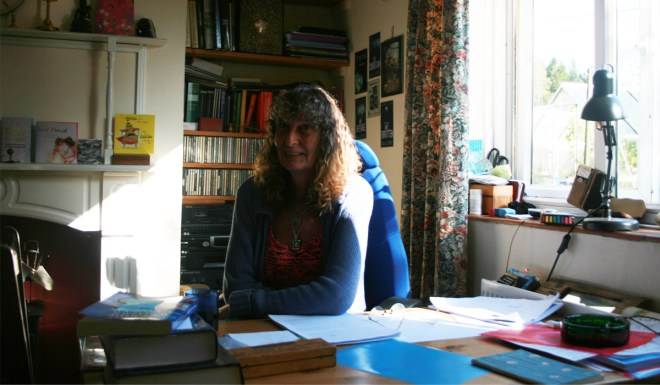 Author Nicola Clifford in her study