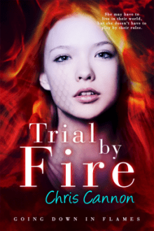 {ARC Review} Trial by Fire (Going Down in Flames #3) by Chris Cannon