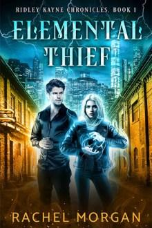 {ARC Review} Elemental Thief (Ridley Kayne Chronicles #1) by Rachel Morgan