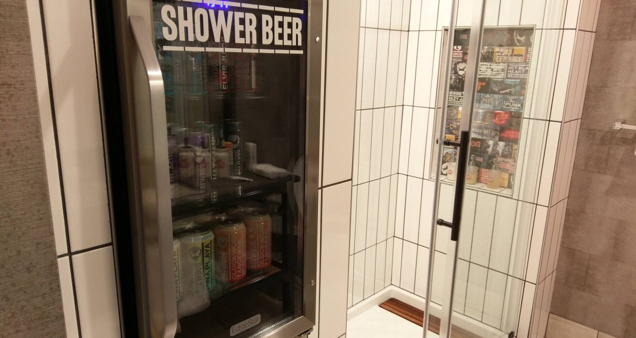 A Simple Shower Beer Can Transform Your Whole Day