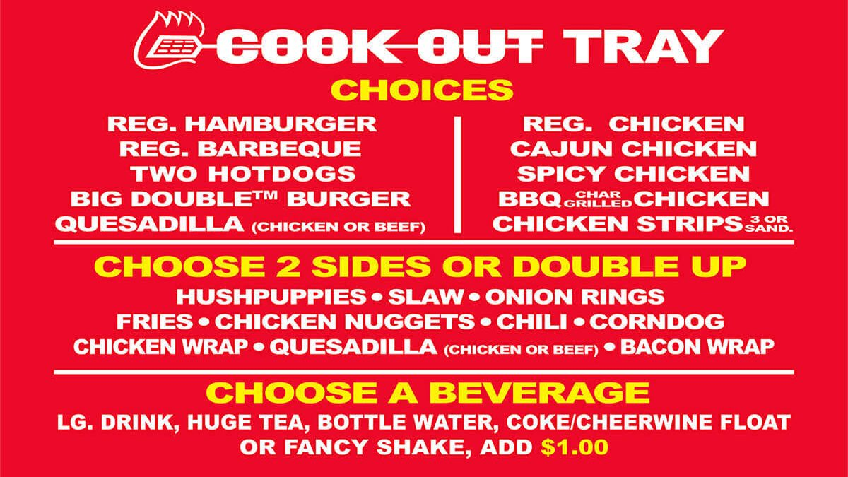 Cook-Out Needs to Come up North