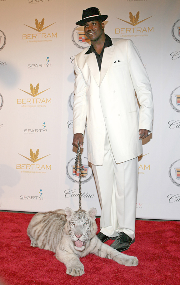 "Shaq's 34th ""Scarface"" Birthday Party - Arrivals"
