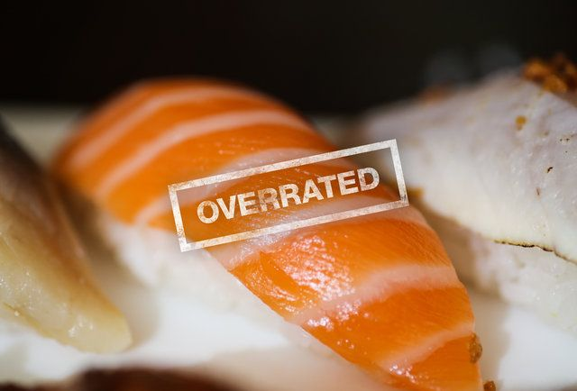 sushi overrated