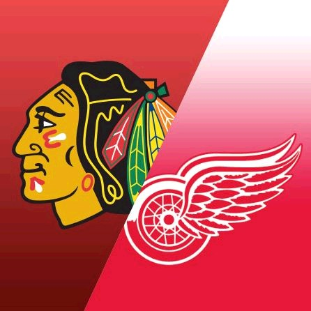 Happy Birthday Blackhawks and Red Wings