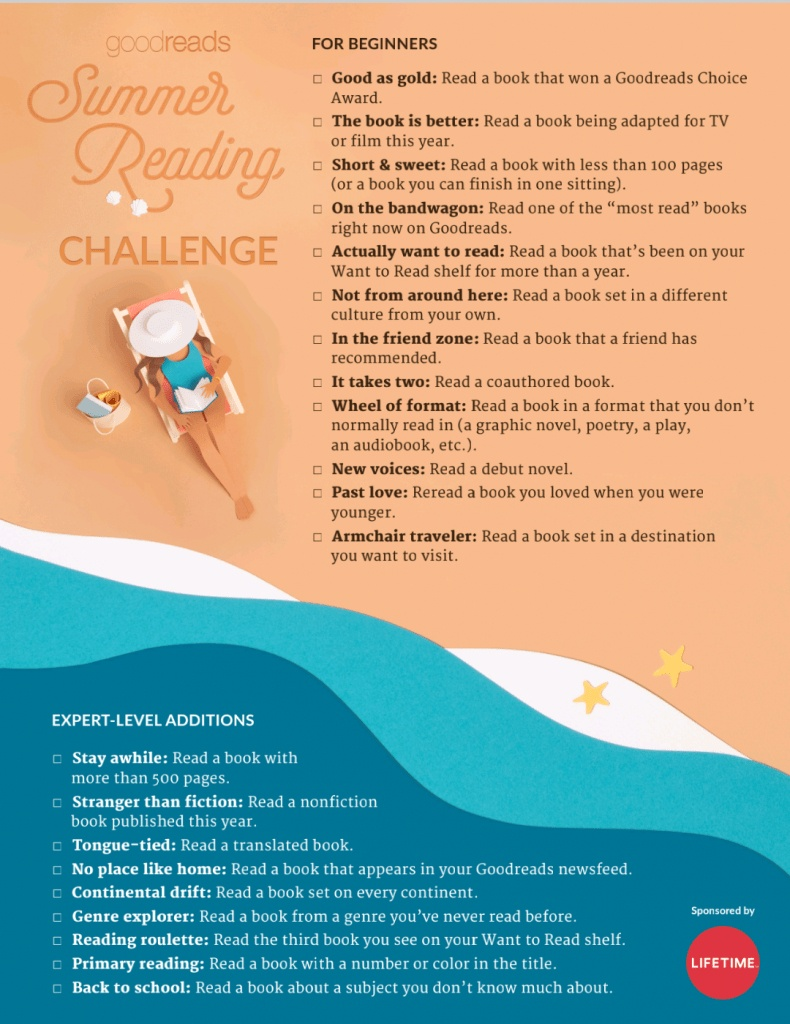 Goodreads-Summer-Reading-Challenge-prompts