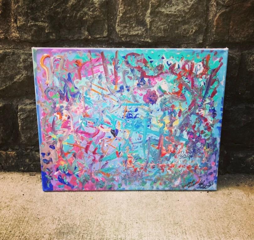 Custom Painting 16 in x 20 in
