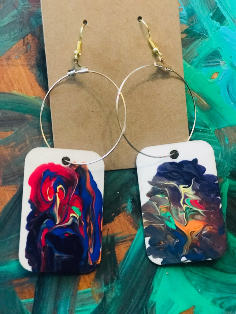 """""""Grounded"""" Earrings by The Chakra Collection"""