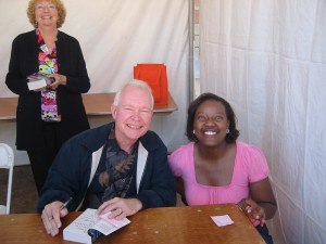 Author Terry Brooks and e_bookpushers
