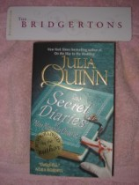 Secret Diaries w/Author sticker and Bookmarker