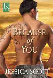 Review – Because of You by Jessica Scott