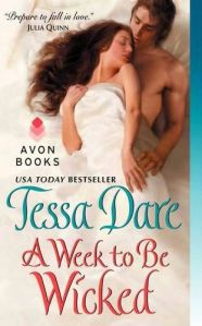 Review: A Week to be Wicked by Tessa Dare