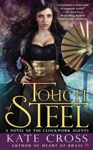 Cover for Touch of Steel by Kate Cross