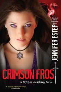 Review – Crimson Frost by Jennifer Estep