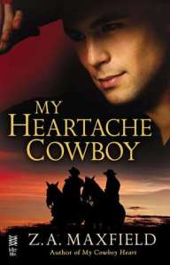 Review – My Heartache Cowboy (The Cowboys #2) by Z.A. Maxfield
