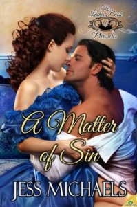 Review – A Matter of Sin (The Ladies' Book of Pleasures #1) by Jess Michaels