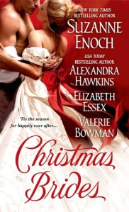 Review – Christmas Brides by Suzanne Enoch, Alexandra Hawkins, Elizabeth Essex, Valerie Bowman