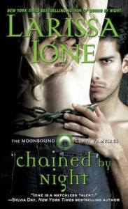Joint Review – Chained by Night (MoonBound Clan Vampires #2) by Larissa Ione