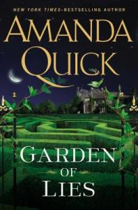 Review & Giveaway – Garden of Lies by Amanda Quick