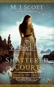 Bookpushers Joint Review – The Shattered Court (A Novel of the Four Arts #1) by M.J. Scott