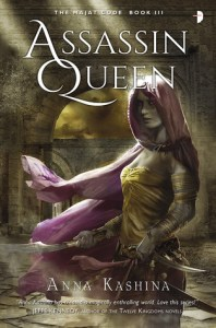 Joint Review: Assassin Queen (Majat Code #3) by Anna Kashina