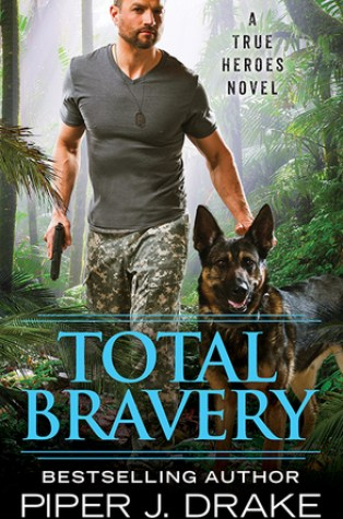 Review – Total Bravery (True Heroes #4) by Piper J. Drake