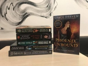 ARC to win PHOENIX UNBOUND by Grace Draven and Fantasy Romance Starter Giveaway!