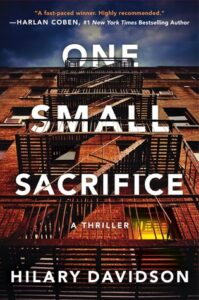 One Small Sacrifice (Shadows of New York #1)