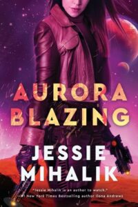 Cover image - Aurora Blazing (Consortium Rebellion #2)