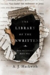 Cover image - The Library of the Unwritten (Novel from Hell's Library #1)