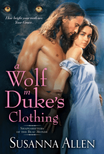 A Wolf in Duke's Clothing (Shapeshifters of the Beau Monde #1)