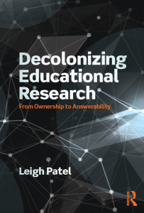 Decolonizing Educational Research: From Ownership to Accountability
