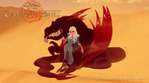 Game of Thrones as Disney