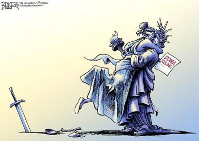 Gay Marriage by Nate Beeler