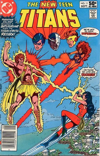 The New Teen Titans vol 1. #11