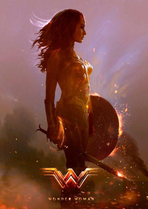 Wonder Woman by Alan Brooks
