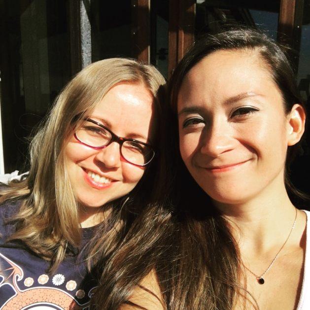 Ana and Thea
