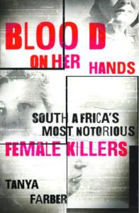 blood on her hands