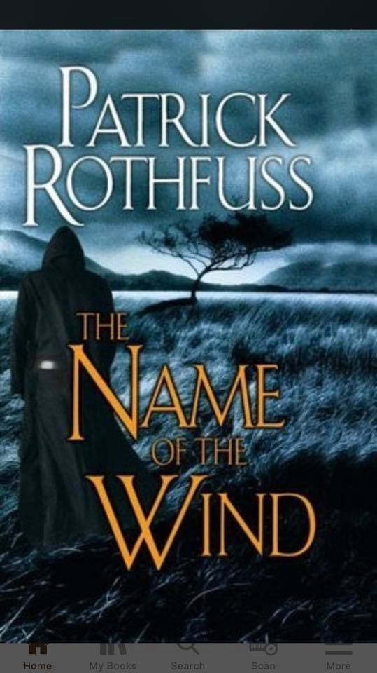 Image may contain: text that says 'PATRICK ROTHFUSS THE NAME WIND'